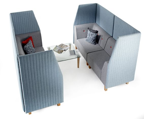 Elements Core and Plus booth with acoustic qualities