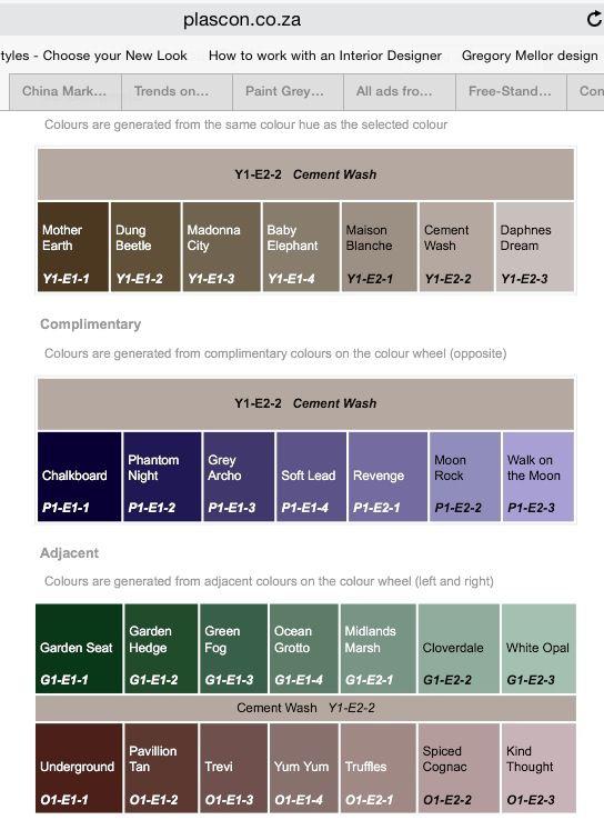 Plascon Cement Wash Interior Paint Colours Taupe