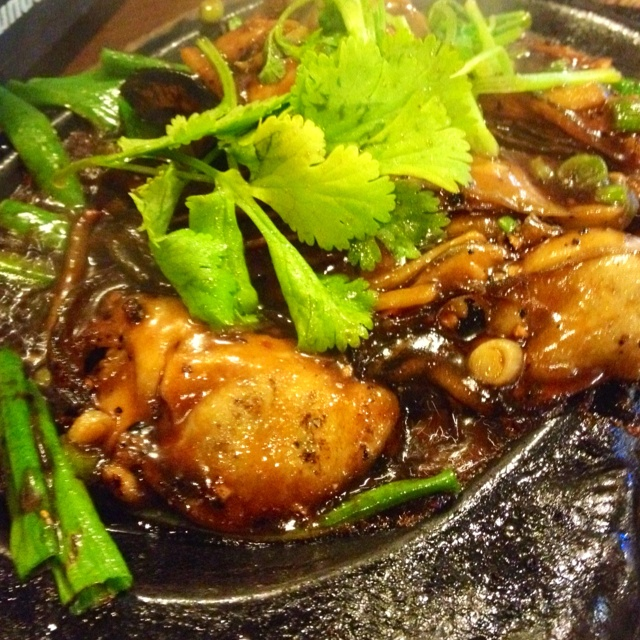 ... Oysters in Black Bean Sauce | vietnamese/asian dishes | Pint