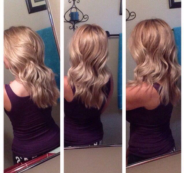 Ash blonde/blonde/olaplex