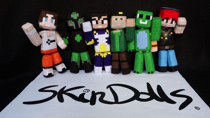 Ya están aquí los SkinDolls, esos muñecos de minecraft que siempre quisiste y nunca encontraste.