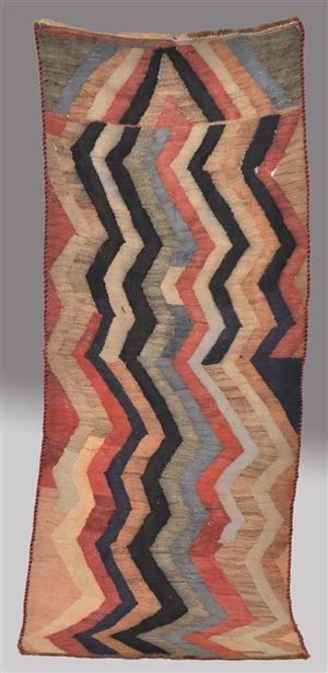 Lauritz.com - Kelim och vävda mattor - Persisk Nomadkelim, 240 x 95 cm - SE, Helsingborg, Garnisonsgatan