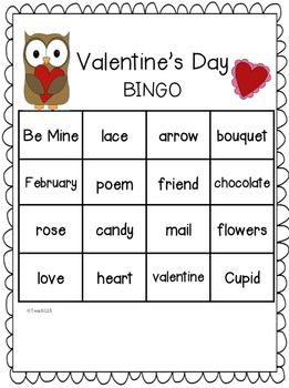 This has everything you need to plan your Valentine's Day party! Saves you time and stress!  $