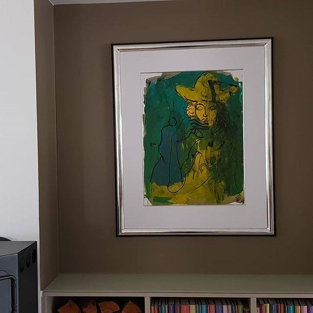 Galerie Wehr Auf Instagram Unikat Armin Mueller Stahl Leider Schon Verkauft Verkauf Und Einrichtung Vor Ort Rahmung 12 Ct Sterlingsilber Han Painting Art