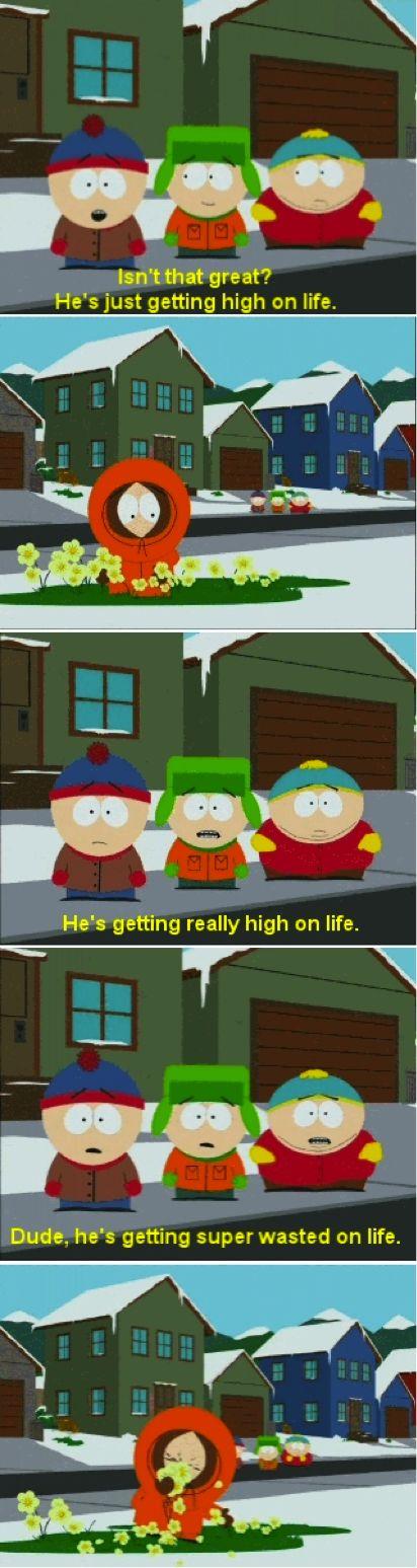 South Park Kenny high