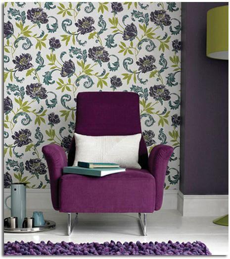 Papel tapiz ecológico para empapelar paredes y techos