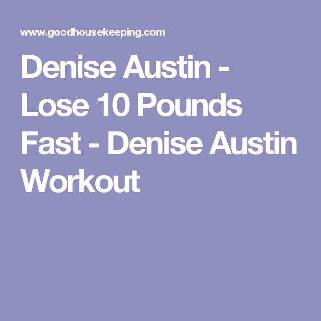 Denise Austin - Lose 10 Pounds Fast - Denise Austin Workout