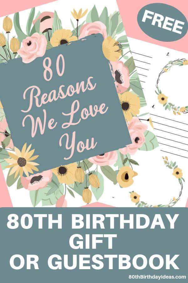 Pin On 80th Birthday Ideas