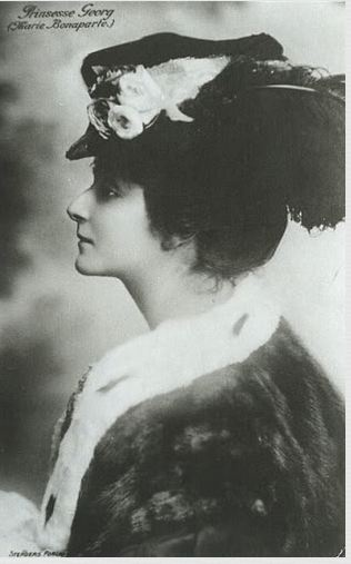 Her Royal Highness Princess George of Greece and Denmark (1882-1962) nee Princess Marie Bonaparte