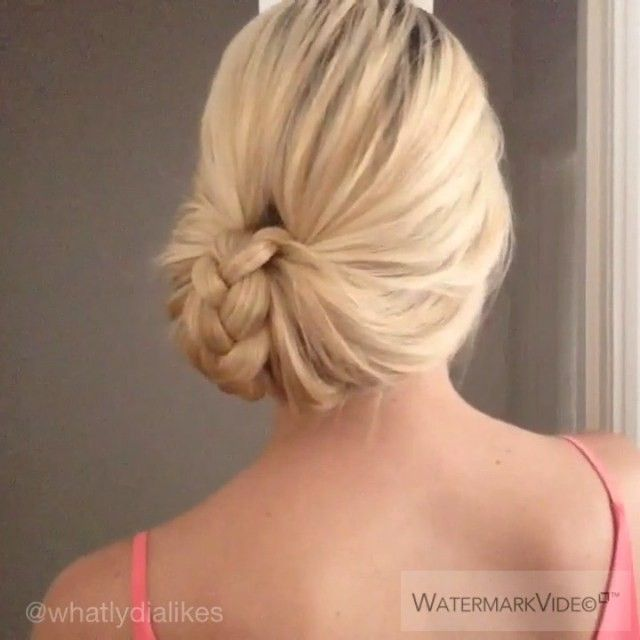 New tutorial! Simple fancy updo. Enjoy xxx #hairtutorial #updo #makegirlz#wakeup… –