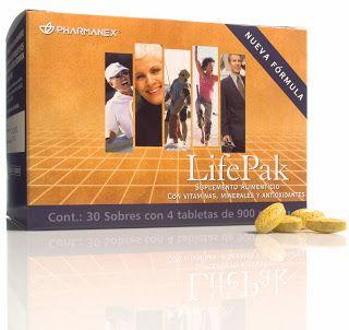 Suplemento alimenticio LifePak