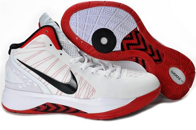Nike Air Foamposite Shoes Nike Hyperdunk 2011 White Red Black [Nike  Hyperdunk 2011 - The Nike Hyperdunk 2011 White Red Black kicks are very  pretty with the ...