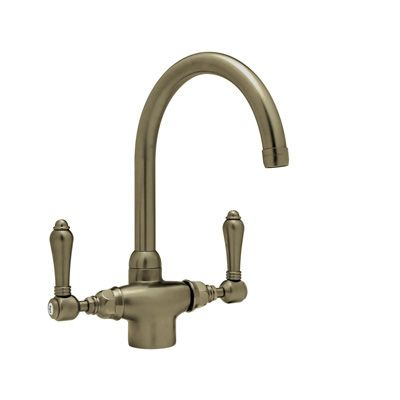 Kitchen option - single hole c spout country kitchen faucet -ROHL KITCHEN – Steep in the Quality