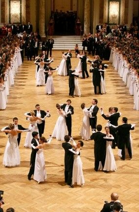 Ball season - Vienna, Austria   - I did that, will never forget night after night of Viennese waltzing.