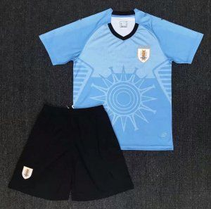 1aecd72da 2018 World Cup Youth Kit Uruguay Home Replica Blue Suit [BFC583 ...
