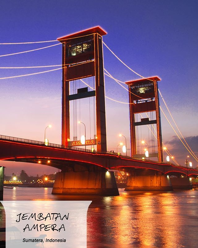 #FaktaCepatCOLORtorial: Keindahan suasana malam di Jembatan Ampera sering disamakan dengan pesona kota Venetia, Italia. #COLORtorial  #EMCOLUX #catkayubesi #warna #surabaya #jakarta #depok #tangerang #bogor #bekasi #bandung #bali #banyuwangi #denpasar #jember #jogja #semarang #solo #kediri #mataram #nusatenggara #lombok #purwokerto #malang #pekanbaru #riau @indonesianrepost @indonesia_kaya @indotravellers @exploresurabaya
