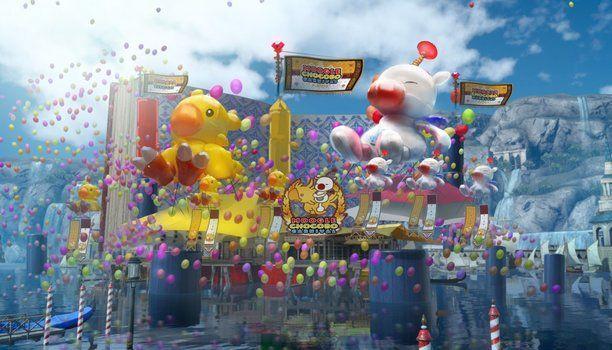La última entrega de la extensa saga Final Fantasy contará desde hoy con el carnaval Moguchocobo un evento que se realizará por toda la ciudad de Altissia una de las localizaciones más importantes del juego y que recuerda a la glamurosa Venecia. Este traerá una gran cantidad de fuegos artificiales actividades y sobretodo diversión al título de Square Enix.  A través de un pack descargable podremos visitar no solo dicha celebración inundada de múltiples minijuegos disfraces platos originales…
