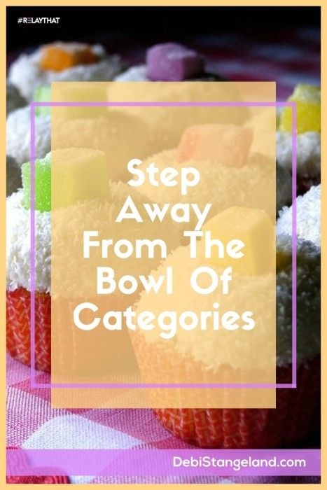 Step Away From The Bowl Of Categories ★ In a recipe too much of an ingredient can be a disaster. It's time to step away from the bowl of categories and find just the right amount for your success. Learn to choose your blog categories wisely to create something delicious for your readers. ★ Learn HOW To Blog ★