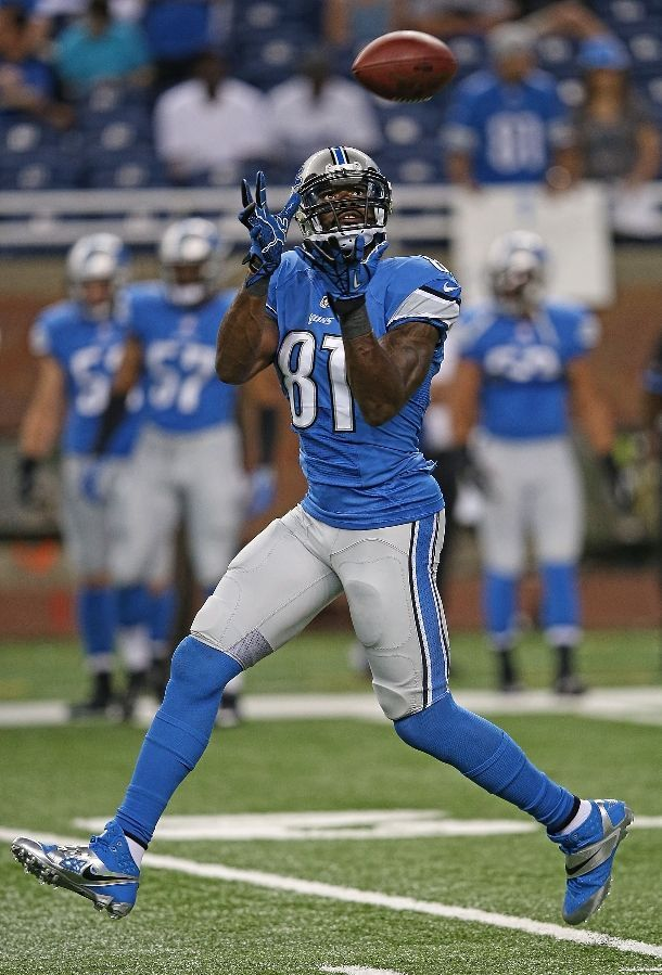 wide receiver: calvin johnson of the detroit lions. MEGATRON w00t!!
