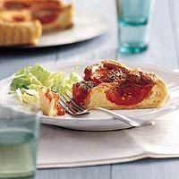 Recept - Kaasquiche met Proven�aalse tomaten - Allerhande