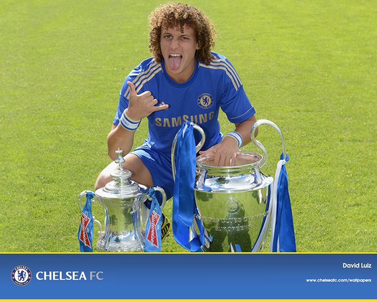 Wallpaper David Luiz Chelsea
