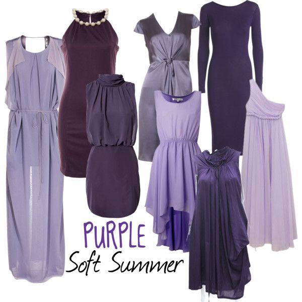 """Soft Summer Purple"" by moni-ssu on Polyvore"