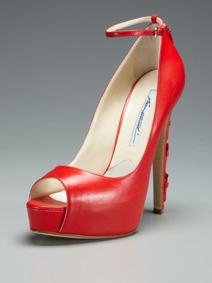 54f745c548a Foot Candy. Sinful Peep-Toe Pump by Brian Atwood on Gilt.com ...