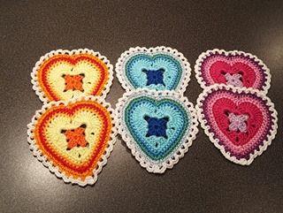 Alldeles nyss fick jag mailet från Nancy att jag får publicera hennes fantastiska virkmönster till Granny Sweet Heart. Å så glad jag blev, ...