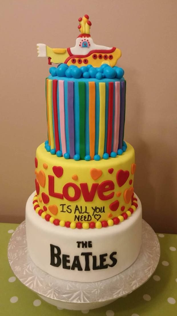 Beatles Cake                                                                                                                                                                                 More