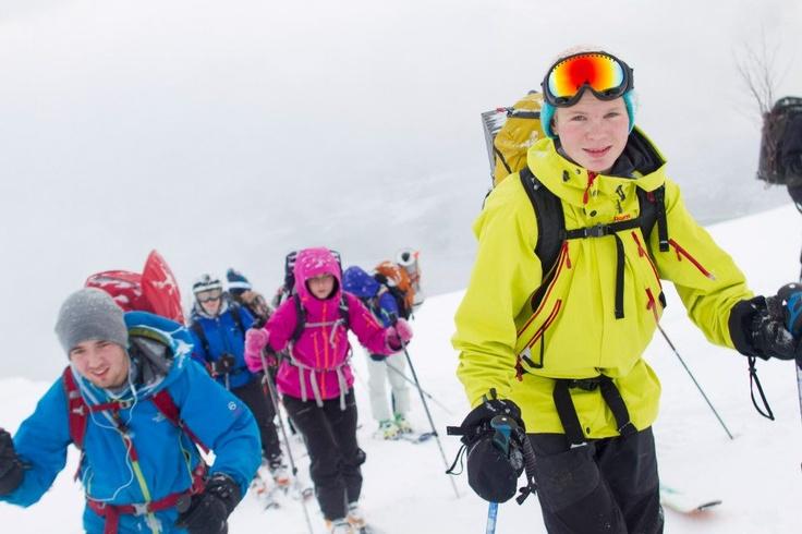 Øytun folkehøgskole på ski oktober 2012