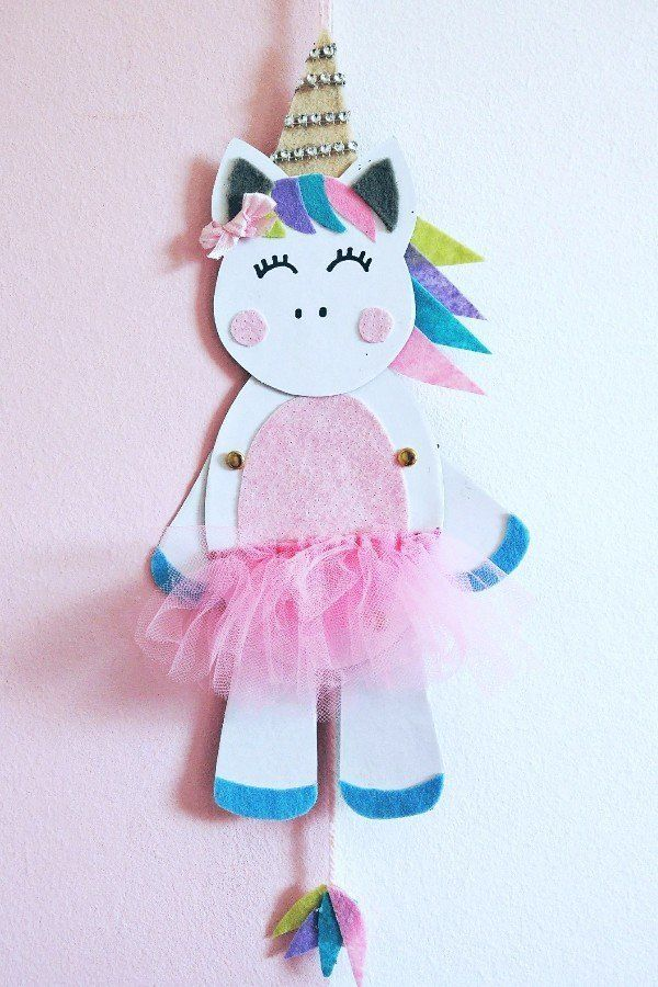 Photo of Unicorn jumping jacks make DIY with DIY step by step instructions and freebie.