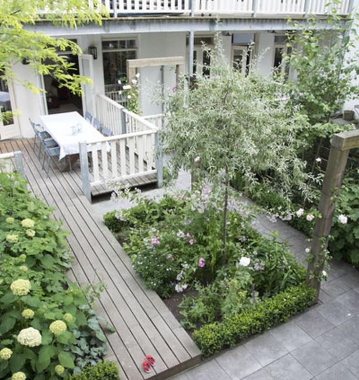 Foto: mooie kleine tuin. Geplaatst door KraakenSmaak op Welke.nl