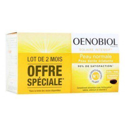 OENOBIOL – Solaire Intensif Peau Dorée Eclatante Peau Normale