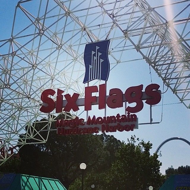 Six Flags Magic Mountain in Valencia, CA