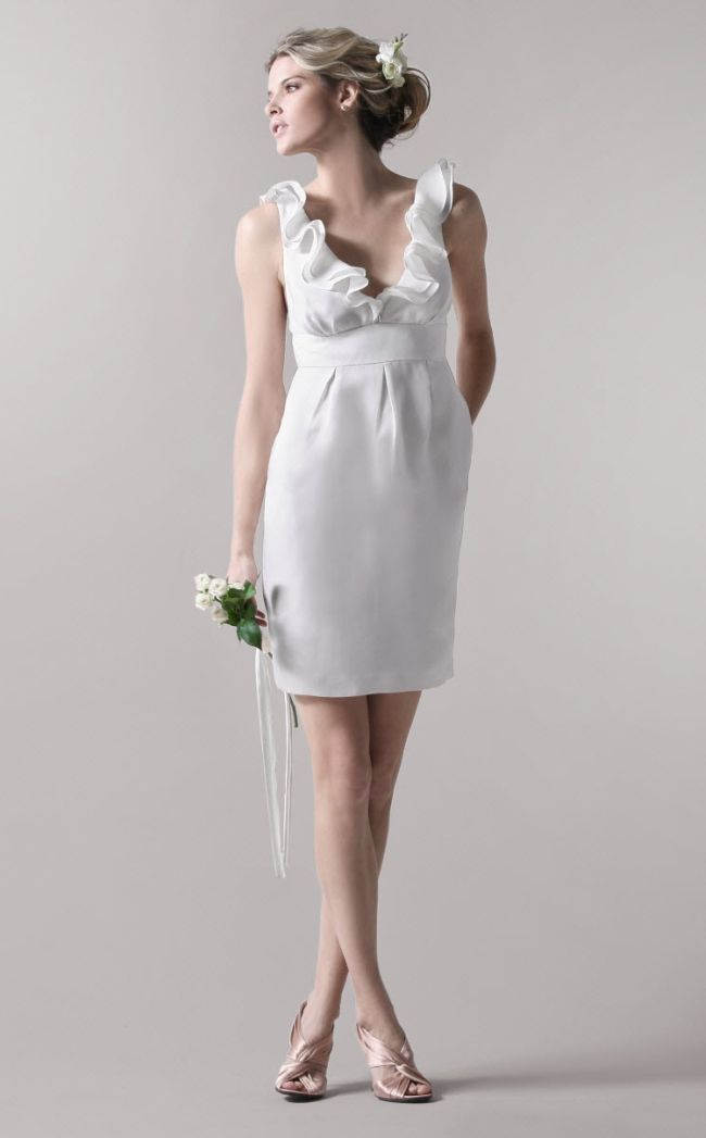 vestido noiva casamento civil 06 Vestido de noiva para casamento civil