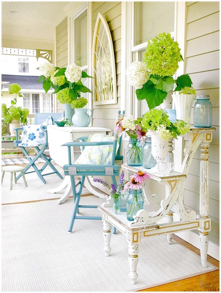 SIMPLE WAY TO PERFECT PORCH EASILY KERPET WHITE DECOR
