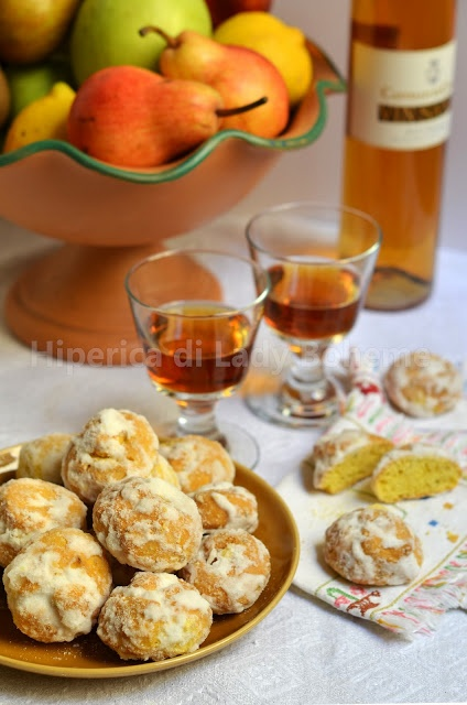 Italian Food - Zuccherini toscani all'anice