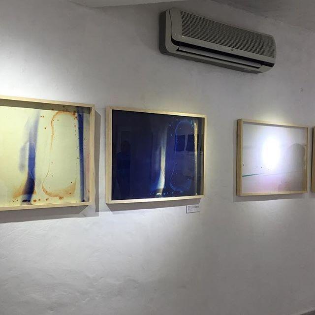 Anoche en @espaciocasamayor 🌚🌝 Inauguración de la muestra Reflexión/Refracción