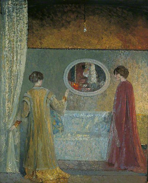 The Dispute - Georg Sauter 1911 German 1866-1937