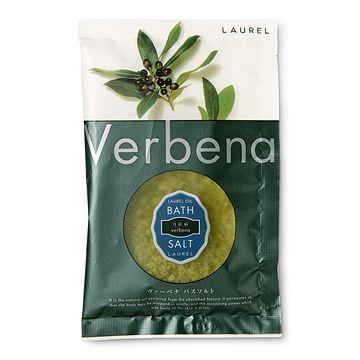 LAUREL/バスソルト ヴァーベナ 294yen ローレル(月桂樹)のオイルを配合したバスソルト