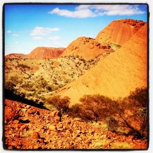 visit the Australian Outback