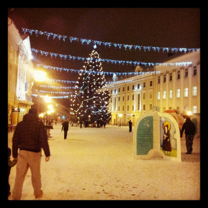 Christmas Spirit in Tartu, Estonia.
