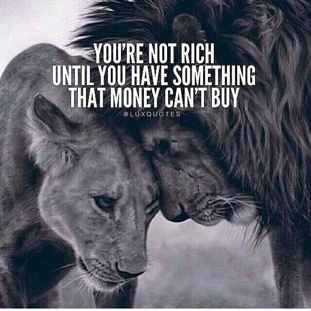 Can T Buy Me Love Quotes: You're Not Rich Until You Have Something Money Can't Buy