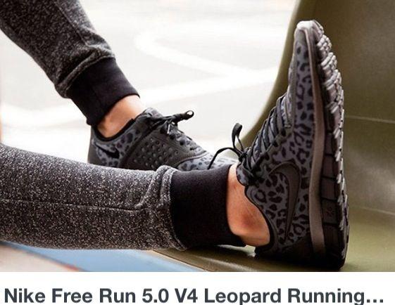 Nike leopard running