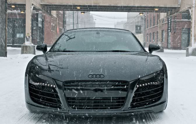 mean R8 is meanSports Cars, Audir8, Supercars, Audi R8, Riding, Snow, Super Cars, Black Audi, Dreams Cars