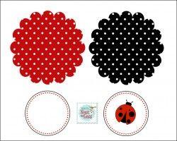 printable for banner #ladybug