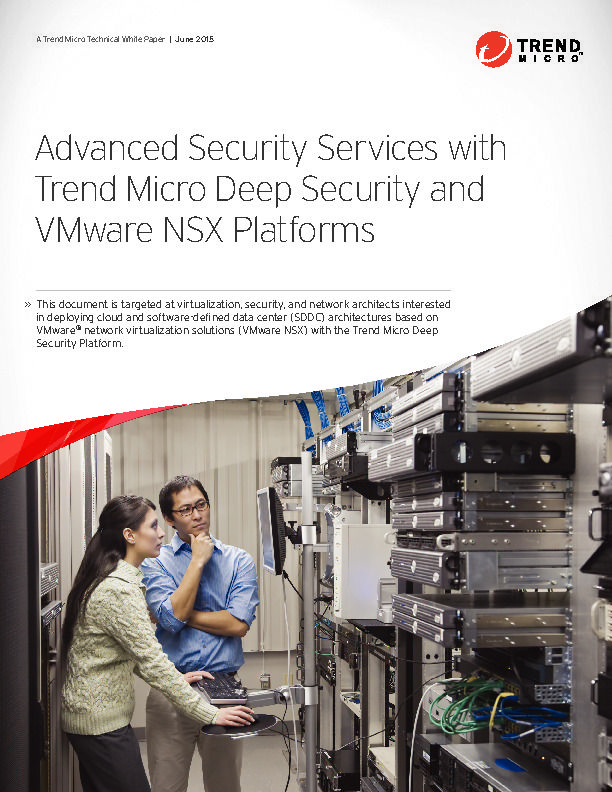 Trend Micro Deep Security and VMware NSX Platforms