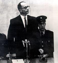 Adolf Eichmann on trial in Jerusalem - 11-4-1961