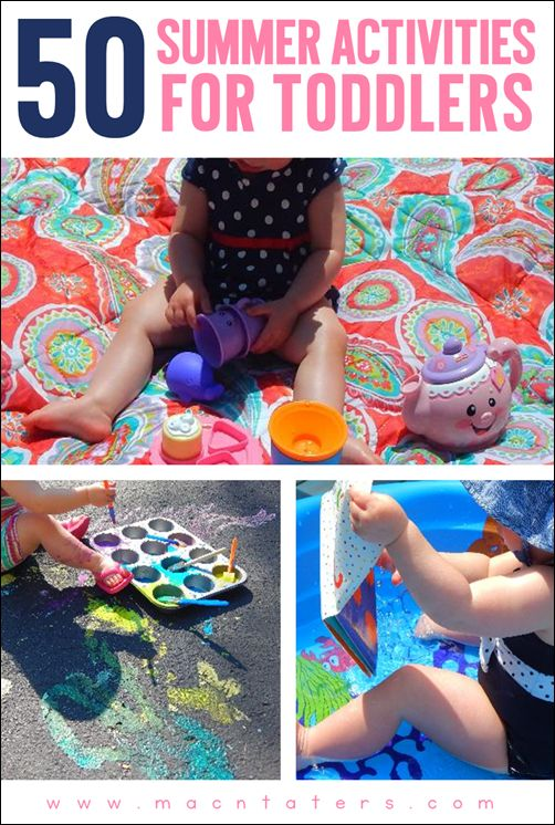 """This post has a printable summer """"bucket list"""" for toddlers and children featuring 50 fun activities. These are great activities that would be perfect for family date nights/date days. Your kids will have a blast going through the list this summer."""