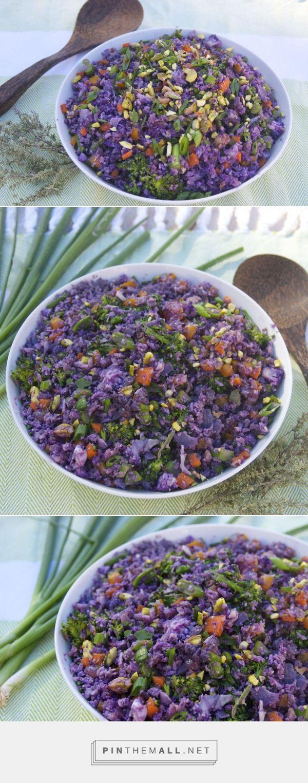 Salads & Sides | Purple Cauliflower Rice Pilaf
